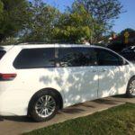 2014 Toyota Sienna XLE White 5 door