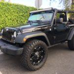 2014 Jeep Wrangler Sport, black