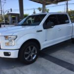 2015 Ford F-150 Sport, white, 4 door