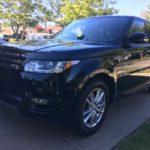 2015 Range rover Sport , black