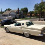 1957 Ford Thunderbird, white