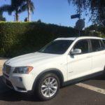 2013 BMW X3, 4 door, white