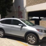 2014 Honda CR-V EX-L, five door, silver