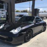 2002 Porsche 911 4S, black