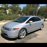 2008 Honda Civic Si, 4 doors, silver