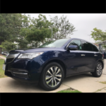 2015 Acura MDX Tech, black