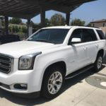2016 GMC Yukon SLT, White, 5 door