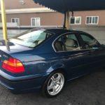 2002 BMW 330i, blue