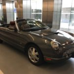 2003 Ford Thunderbird, convertible, grey