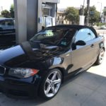 2008 BMW 135, black, convertible