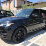 2014 Range Rover Sport, black, SUV