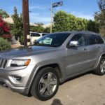 2015 Jeep Cherokee Overland, grey, 4 door