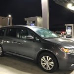 2014 Honda Odyssey EX-L, dark grey