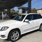 2015 Mercedes Benz GLK, white
