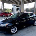 2015 Ford Focus SE, black, four door