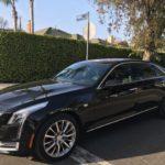 2017 Cadillac CT6 AWD, black, 4 door