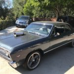 1967 Chevelle, 2 door, black