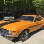 1970 Mustang, 2 door, orange