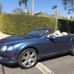 2015 Bentley Continental GTC, blue, 2 door, convertible