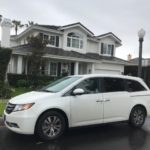 2015 Honda Odyssey, white, 5 door
