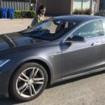 2015 Tesla Model S 85, gray, 4 door