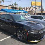 2018 Dodge Charger Hellcat, black, 4 door
