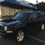 2014 Jeep Patriot Lattitude, 4 door, black