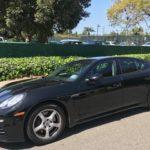 2015 Porsche Panamera, black, 4 door
