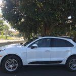 2017 Porsche Macan, white 4 door