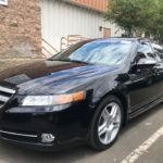 2007 Acura TL, black, 4 door