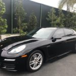 2016 Porsche Panamera, black, 4 door