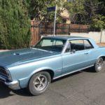 1965 Pontiac GTO, blue, 2 door