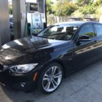 2015 BMW 428 Grand Coupe, black, 4 door