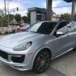 2016 Cayenne GTS, silver, 4 door