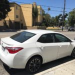 2016 Toyota Corolla S, white, 4 door