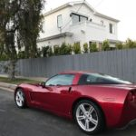 2008 Chevy Corvette, Red, 2 door