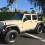 2011 Jeep Wrangler Unlimited, 4 door, white