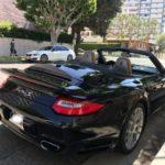 2011 Porsche 911 Turbo S, convertible, black