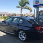 2014 BMW 550 MSport, 4 door, sport, black
