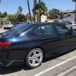 2014 BMW 550i M Sport, 4 door, Blue