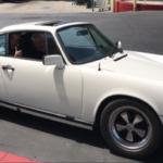 1982 Porsche 911 SC, white