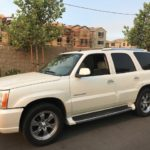 2004 Cadillac Escalade, white, 4 door
