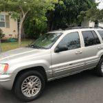 2004 Jeep Grand Cherokee, silver, 4 door