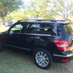 2012 Mercedes Benz GLK, black, 4 door