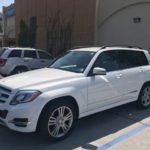 2013 Mercedes Benz GLK, white, 4 door