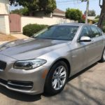 2014 BMW 528i, gray, 4 door