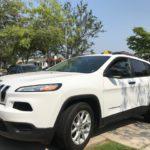 2016 Jeep Cherokee, white, 4 door