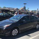 2016 Toyota Prius 4, black, 4 door