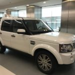 2012 Land Rover LR4, white, 4 door