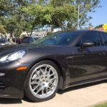 2014 Porsche Panamera, black, 4 door